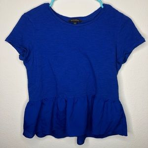 Banana Republic Mixed Medium Peplum Tee